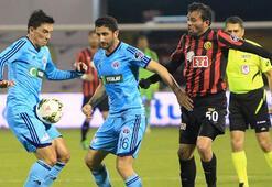 Eskişehirspor - Kasımpaşa: 4-1