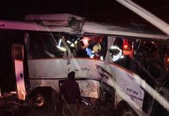 Konyada korkunç trafik kazası