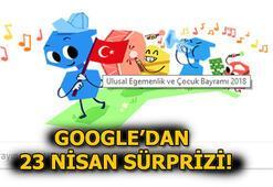 Google, 23 Nisan için özel Doodle yayınladı