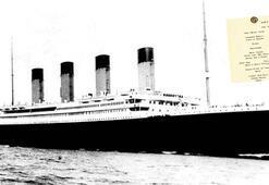 Titanik battı menüsü kazandı