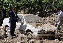 Hakkari'de sel:  300 koyun telef oldu 10 ev hasar gördü