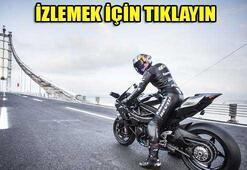 Kenan Sofuoğlu, Osmangazi Köprüsünden rüzgar gibi geçti
