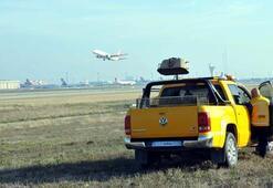Atatürk Havalimanında köpek timi