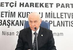 MHP lideri Bahçeli'den İYİ Parti çıkışı: Ne olacak, seçime de girsin alırsa bizden alır