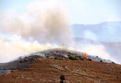 Bodrum makilik alanda yangın çıktı