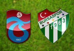 Trabzonspor Bursaspor maç sonucu ve özeti