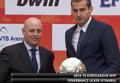 THY Euroleaguein en değerli oyuncusu Nemanja Bjelica oldu