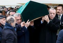 Cumhurbaşkanı Erdoğan, Bekir Sıtkı Albayrakın cenazetörenine katıldı