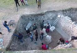 Antik çağın Hac merkezinde bin 500 yıllık Kilise ortaya çıkarıldı