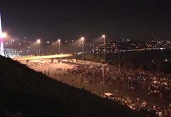 Olay gecesi köprüde yaşananları ortaya koyan en net görüntüler