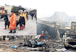 Sanayi sitesinde patlama: 4 ölü