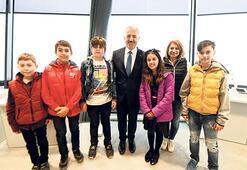 Yeni Havalimanı'nın ilk konuğu çocuklar