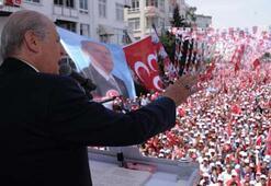 Bahçeliden Davutoğlunun açıklamasına tepki
