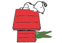 """Snoopy 60'ıncı yaşını """"timsah""""la kutluyor"""