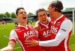 Alkmaar ve Groningen Avrupa Ligi vizesi aldı