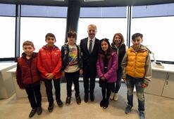 İstanbul Yeni Havalimanının ilk konuğu çocuklar oldu