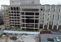 Atatürk Kültür Merkezinde yıkım çalışmaları başladı