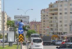 Adanada Kenan Evrenin adı  bulvardan kaldırıldı