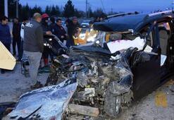 Başkent'te feci kaza: 4 ölü, 1 yaralı