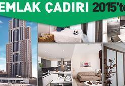Emlak Çadırı 2015'te tüm daireler kullanıma hazır ve 99 Bin TL...