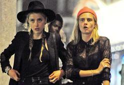 Amber Heard striptiz kulübüne alınmadı