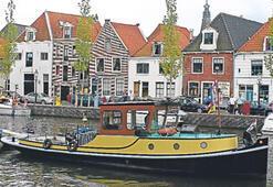 Kanallar ülkesi Hollanda'da tekne turu