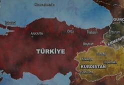 Kurtlar Vadisinden uçuk Türkiye haritası