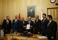 İttifak ile ilgili düzenleme Meclise sunuldu