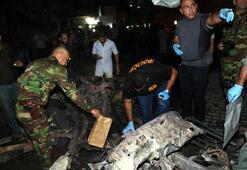 Gece yarısı bomba yüklü araç patladı