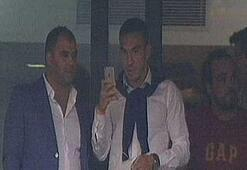 Mevlüt Erdinç, TT Arenada derbiyi izledi