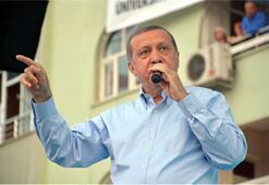 Erdoğan açılışları yaptı