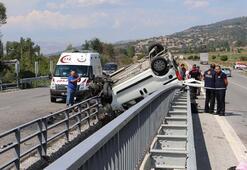 Amasyada düğün yolunda kaza: 6 yaralı