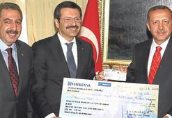 Erdoğan: Bu yardım TOBB'a yakışmaz