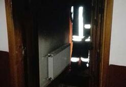 Kocaelide ev yangını: 1 ölü, 2 yaralı