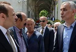 Hacıosmanoğlu, Aşçıoğlunun cenazesine katıldı