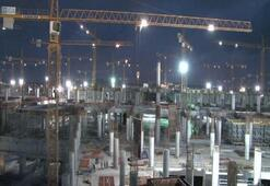 3. Havalimanı inşaatı gece gündüz devam ediyor