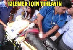 Polis memuru vuruldu, saldırganlar kaçtı