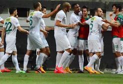 Bursasporlu futbolcular Avrupaya kilitlendi