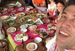 Ünlü oyuncu Emre Kınay, Güneşin Kızları' setinde kameramanlık yaptı