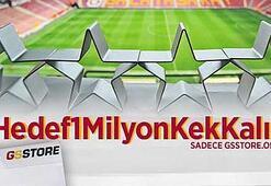Galatasarayda kek kalıpları satışta