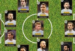 Premier Lig'de en iyi 11 belirlendi