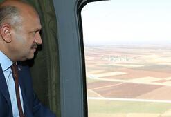 Milli Savunma Bakanı Işık sınırda