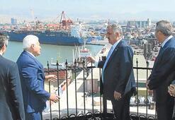 Bakan'dan limana acil yatırım sözü