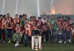Ve Galatasaray kupasını aldı