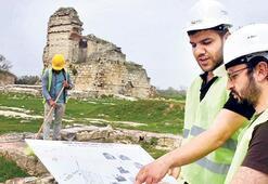 Edirne Sarayı turizm için ayağa kaldırılıyor