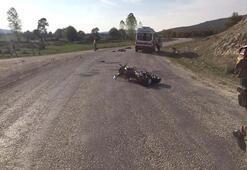 Motosiklet kazasında ölen Gizem öğretmenin son görüntüleri ortaya çıktı