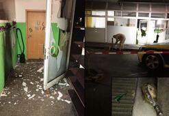 Almanyada teröristler camiye saldırdı