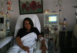 Organ nakli bekleyen ilk kadın vekil aday