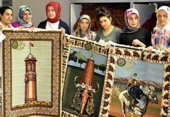 Erzurum, dünya standartlarının üzerinde halı üretiyor