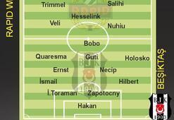Beşiktaş, Rapid Wien deplasmanında...